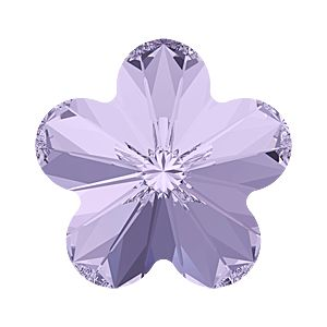 4744 MM 6,0 VIOLET F - Rivoli Flower Fancy Stone