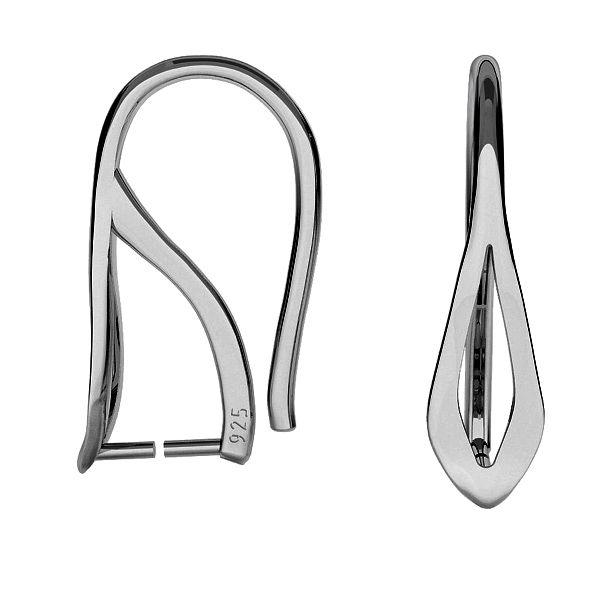 Open ear wire for Swarovski - BO 36