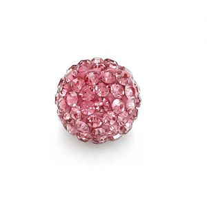 DISCOBALL 1 HOLE ROSE 8 MM