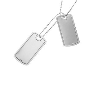 LASER - Dog Tag Set 0,40 - 60 cm