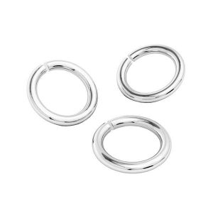 KC-0,90x2,00 - anillas, plata 925