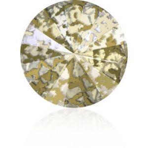 1122 MM 12,0 CRYSTAL GOLD-PAT F