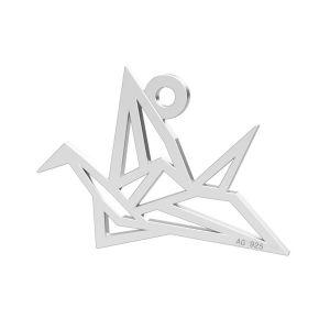 Pájaro de origami colgante, LK-0364 - 0,50