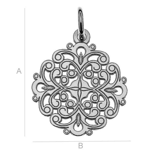 Openwork charms - LK-0382