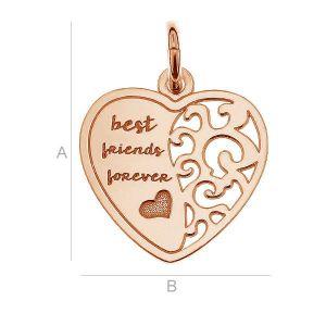 LK-0401 - Best friend heart