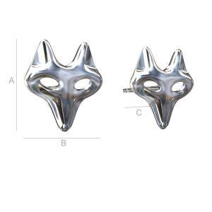 ODL-00078 - Fox earrings