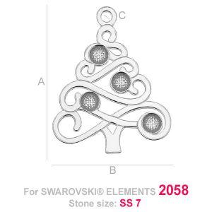 LK-0519 - Christmas tree (2058 SS 7)
