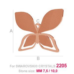 Butterfly charm (2205) - LK-0 B