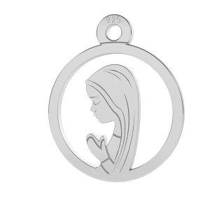 Nuestro medallón de la señora Fatima - LK-0661 - 0,50