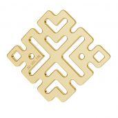 Griego colgante oro 14K LKZ-00462 - 0,30 mm