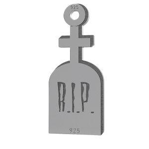 Lápida sepulcral halloween colgante, LK-1019 - 0,50