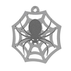 Araña halloween colgante, LK-1020 - 0,50
