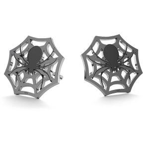 Araña halloween aretes, LK-1029 - 0,50