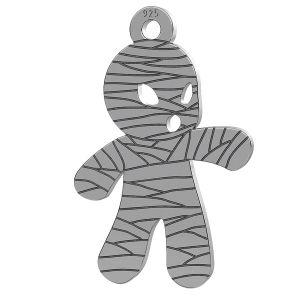 Momia halloween colgante, LK-1018 - 0,50