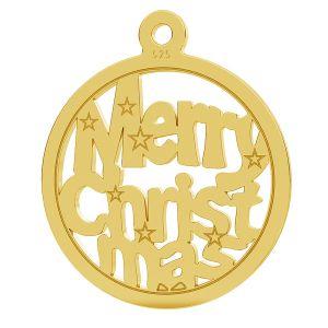 Merry Christmas colgante LK-1048 - 0,50