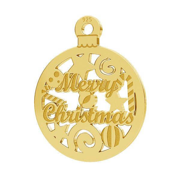 Merry Christmas colgante LK-1087 - 0,50