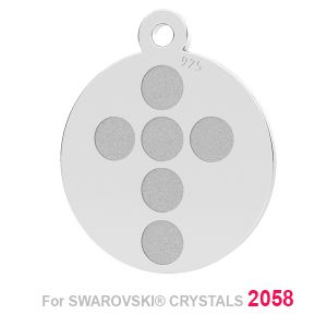Cruz colgante (2058 SS 7) LK-1175 - 0,50 ver.1