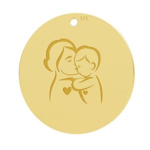 Madre e hijo colgante, LK-1281 - 0,50