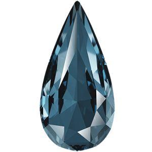 Teardrop Fancy Stone, Swarovski Crystals, 4322 MM 10,0X 5,0 DENIM BLUE F