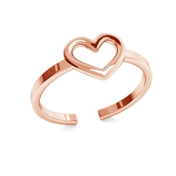 Corazón anillo, plata 925, ODL-00317