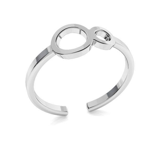 Símbolo de infinito anillo, plata 925, ODL-00319