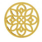 Rosetón colgante, oro 14K, LKZ-00619 - 0,30