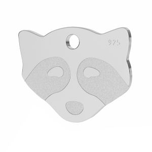 Mapache colgante, plata 925, LK-1311 - 0,50
