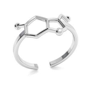 Símbolo de infinito anillo, plata 925, ODL-00349