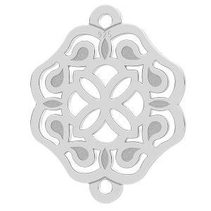 Rosetón colgante, plata 925, LK-1259 - 0,50