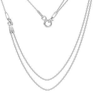 Collar base, plata 925, S-CHAIN 19 (A 030)