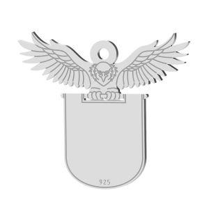 Bombilla colgante, plata 925, LK-1370 - 0,50