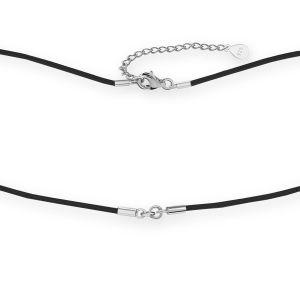 Collar guita, plata 925, S-CHAIN 22