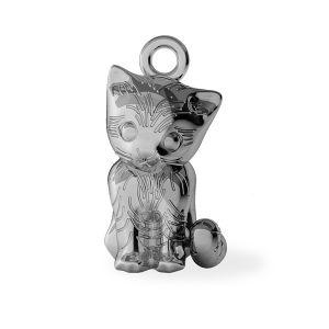 Gato colgante, plata 925, ODL-00386