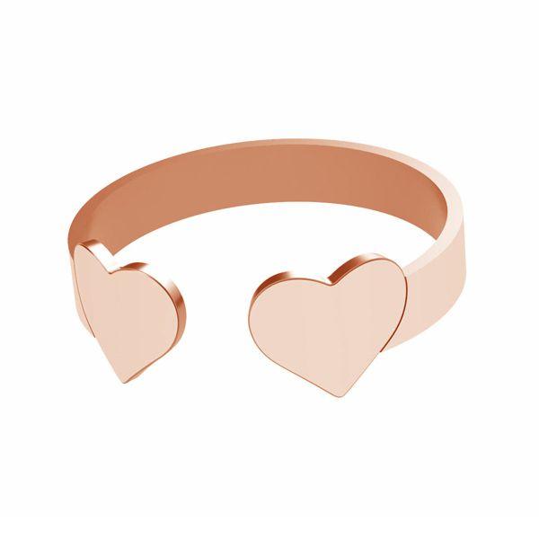 Corazón anillo, plata 925, LK-1404 - 0,50