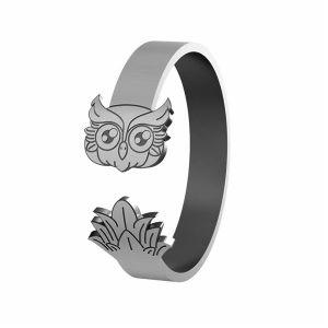 Búho anillo, plata 925, LK-1406 - 0,50