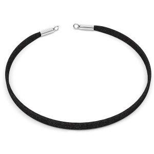 Choker alcantara base de collar S-CHAIN 25 - 36 cm