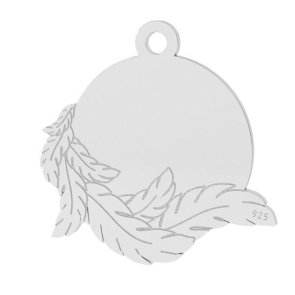 Alas colgante, plata 925, LK-1467 - 0,50