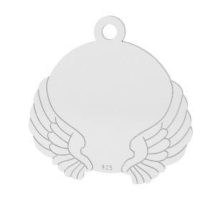 Alas colgante, plata 925, LK-1469 - 0,50