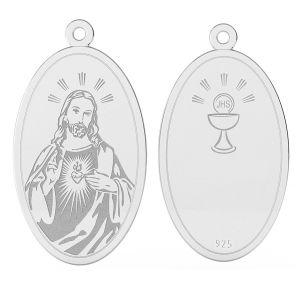 Nuestro medallón, plata 925, LK-1485 - 0,50