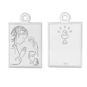Nuestro medallón, plata 925, LK-1488 - 0,50