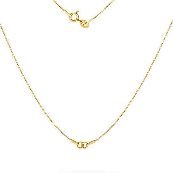 Collar SG-CHAIN 3 - (20+20 cm) AU 585 14K