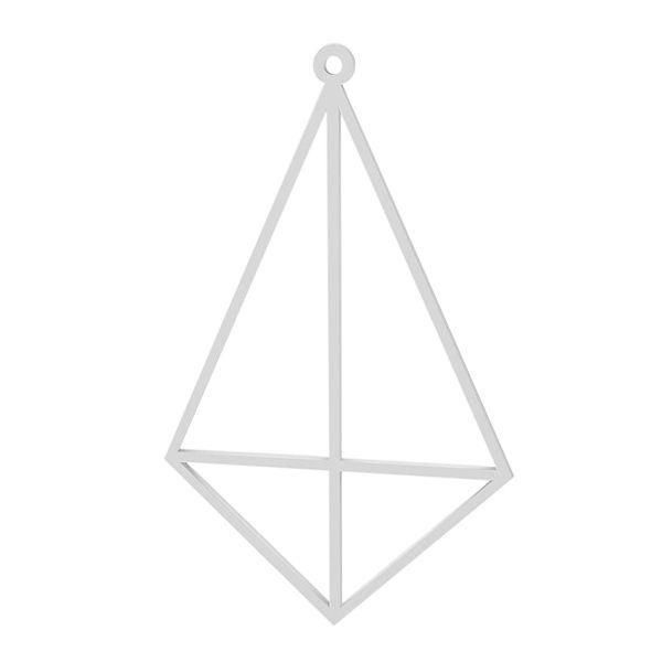 Cometa colgante, plata 925, LK-1498 - 0,50