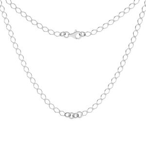 Base de collar, plata 925, S-CHAIN 27 (R1 50)