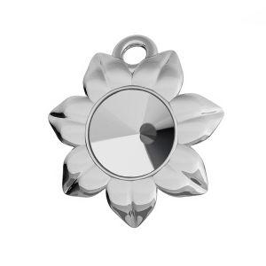 Flor colgante Rivoli Swarovski, plata 925, ODL-00448 (1122 SS 29)