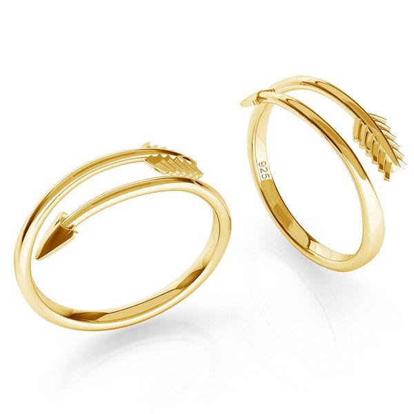 Flecha anillo plata 925, ODL-00451