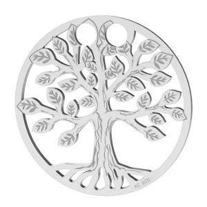Árbol de la vida colgante plata 925, LKM-2028