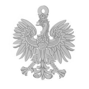 Aguila colgante plata 925, LKM-2041
