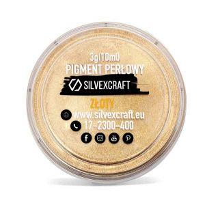 Pigmento perlado - dorado, 3 g