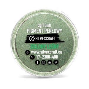 Pigmento perlado - verde, 3 g