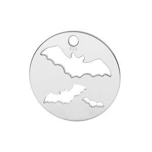 Murciélago colgante, plata 925, LK-1561 - 0,50